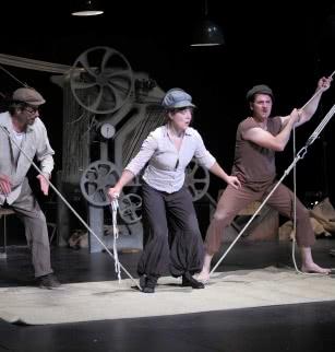 Festival puy de Dôme en scène Filobal, cirque musical