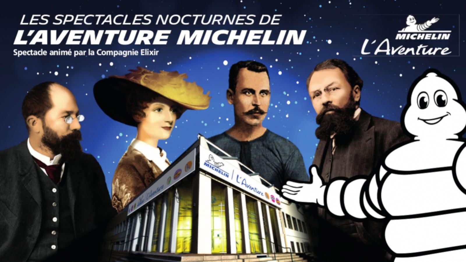 Les spectacles nocturnes de l'Aventure Michelin