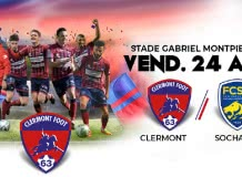 Clermont Foot 63 vs Sochaux