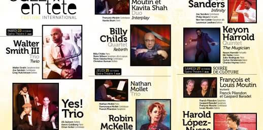 Jazz en fête 2018 : Programme