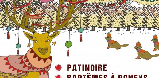 Les Hivernales - Patinoire au sommet