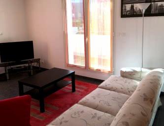 Location meublé Chalet Camillle appartement 24 salon