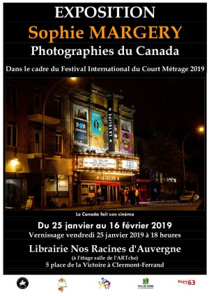 Exposition Sophie Margery : Photographies du Canada