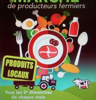 Marché de producteurs de Cournon d'Auvergne