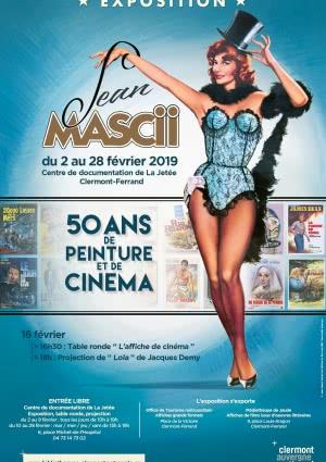 Exposition Jean Mascii / dans le cadre du Festival international du Court Métrage