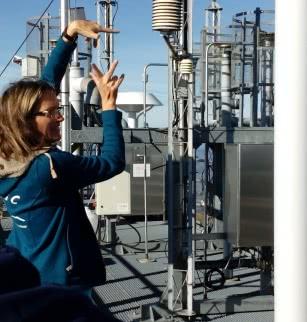 Fête de la science au puy de Dôme - Visite de l'Observatoire de Physique du Globe