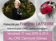 Les insectes & nous (conférence de François Lasserre)