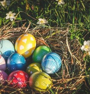 Grande chasse aux œufs de Pâques au parc Montjuzet