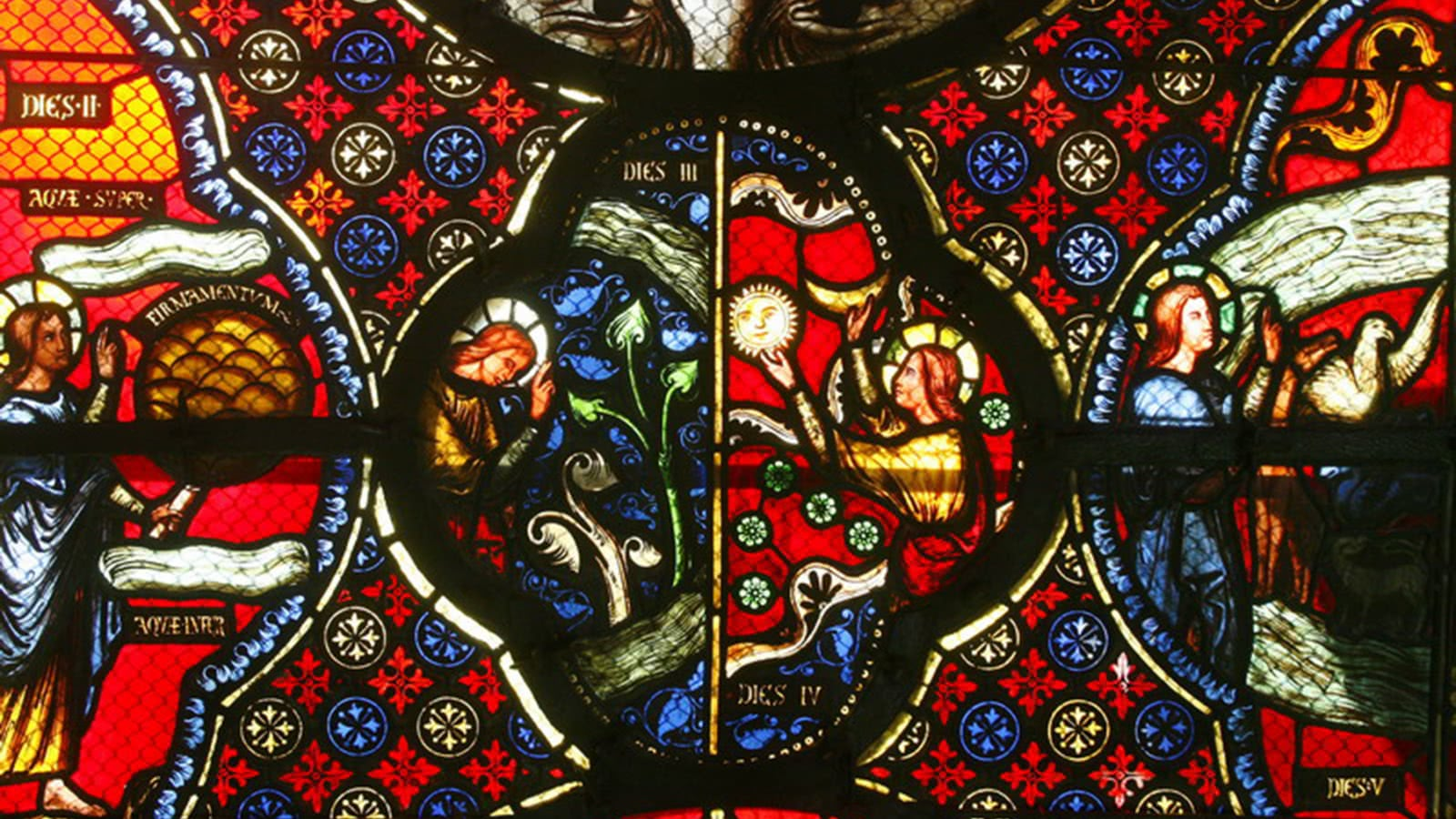 Visite de la basilique Notre-Dame-du-Port : la basilique en couleur