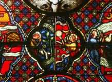 Visite en famille de la basilique Notre-Dame-du-Port : la basilique en couleur