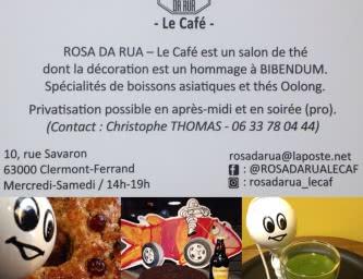 Rosa da Rua -  Le Café