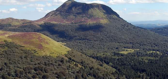 Balade géologique au puy de Dôme