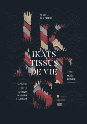 Exposition : Ikats, tissus de vie - Un voyage de l'Orient à l'Occident