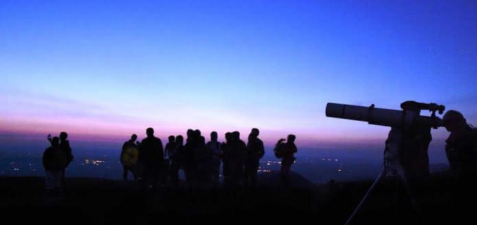 La nuit des étoiles au sommet du puy de Dôme