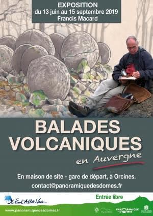 Exposition - Balade volcanique en Auvergne