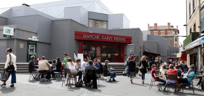 Halles gourmandes Saint-Pierre