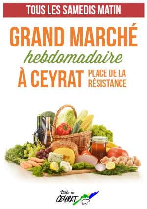 Marché de Ceyrat