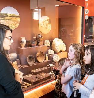Visite commentée, en famille, des collections archéologiques du musée Bargoin