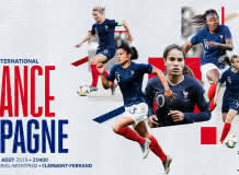Football : Match international  France/Espagne
