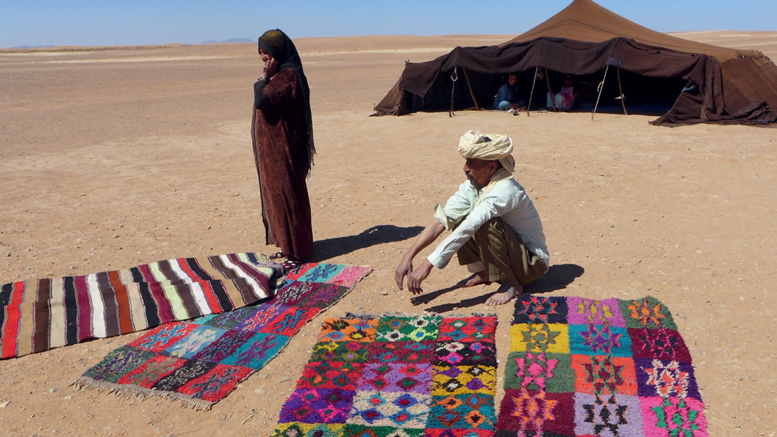 Désert sud-marocain