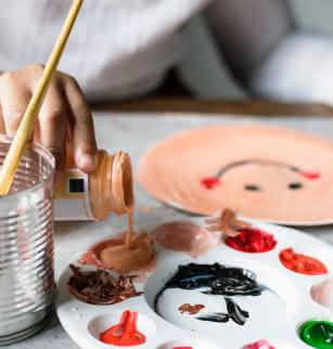 MARQ : Initiation à la peinture - geste mouvement - zoom