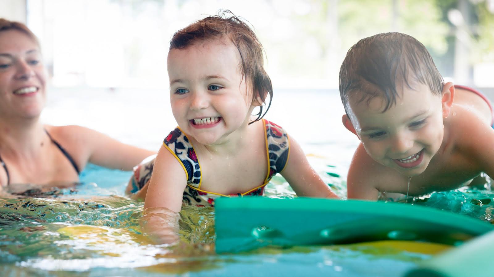 La journée des petits baigneurs et familles