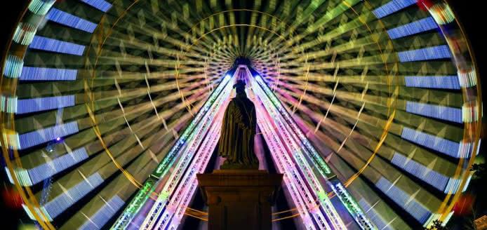 Grande roue de Noël