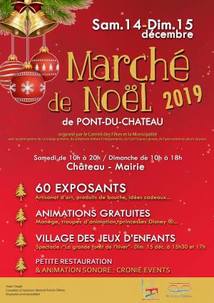 Marché de Noël à Pont-du-Château