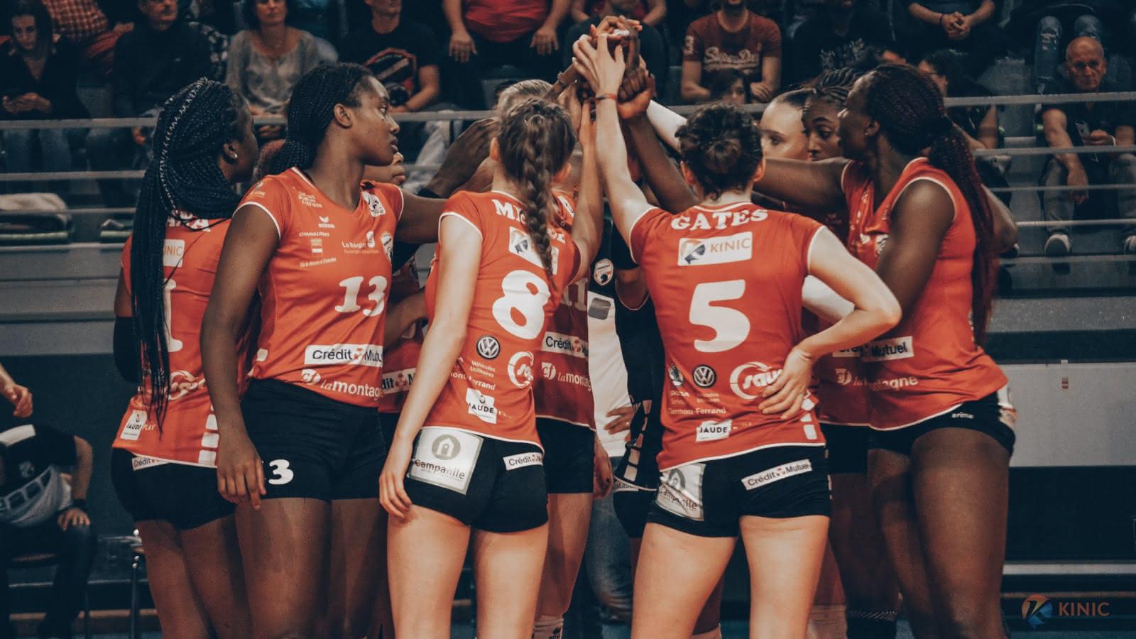 Volley-ball : Les Panthères de Chamalières VS Pays d'Aix Venelles