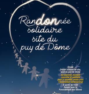 Flyer Randonnée nocturne de la Saint-Sylvestre