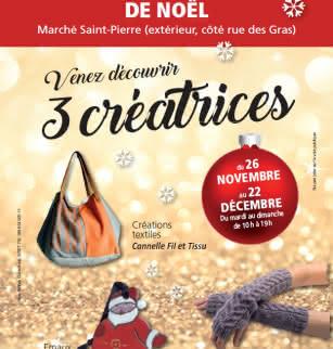 Boutique éphémère de Noël : 3 créatrices