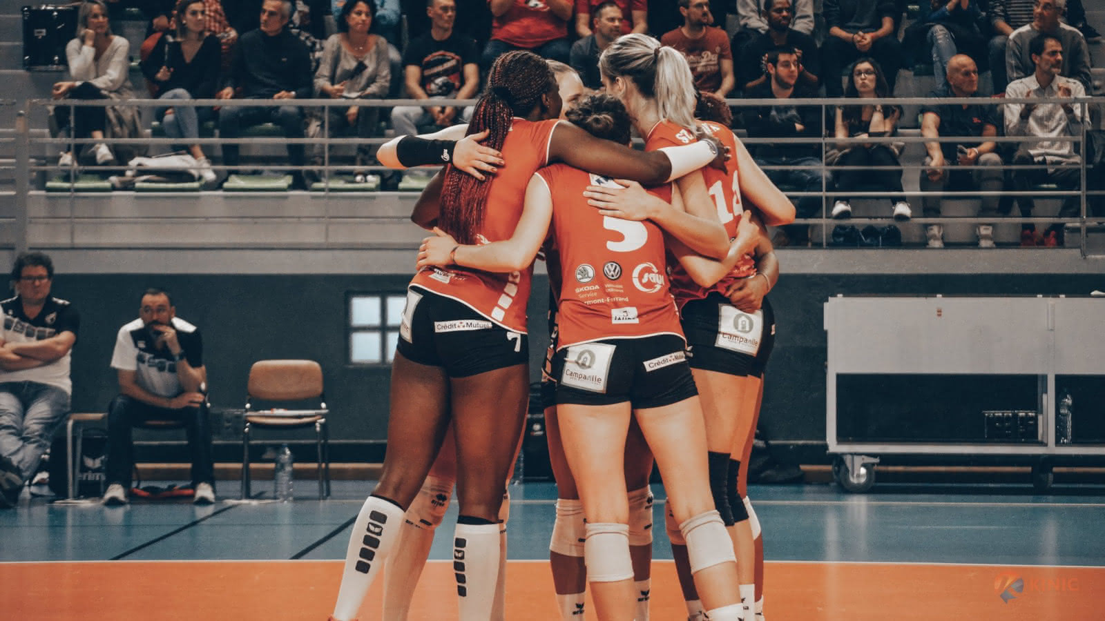 © Volley-ball : Ligue A Féminine - VBC Camalières VS Racing Club de Cannes