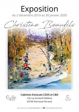 Exposition de la peintre Christine Beaufils