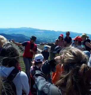 "Guided tour ""Discovering the puy de Dôme"" or ""The fascinating history of the puy de Dôme"""
