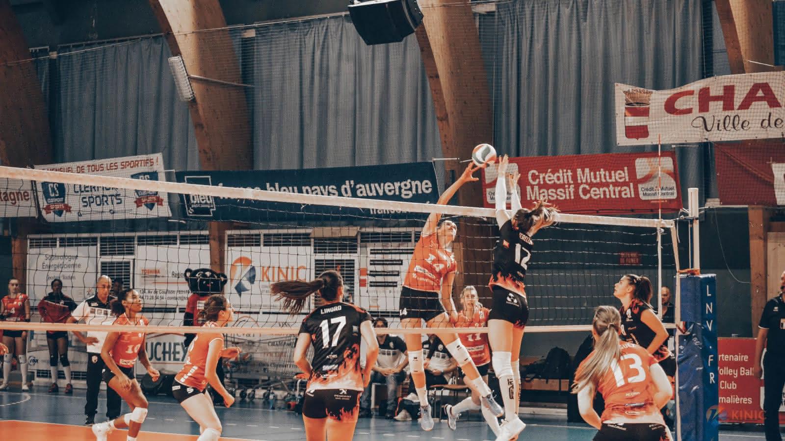 Volley-ball : Les Panthères de Chamalières VS Municipal Olympique Mougins