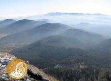 Paysage sud de la Chaîne des Puys