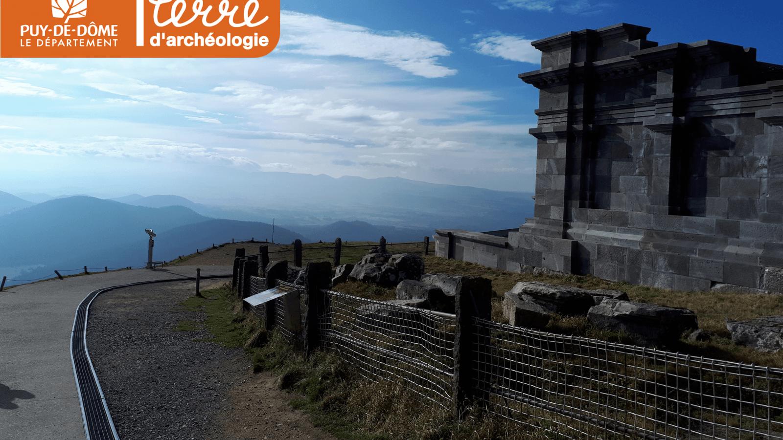 © Temple de Mercure vue sud