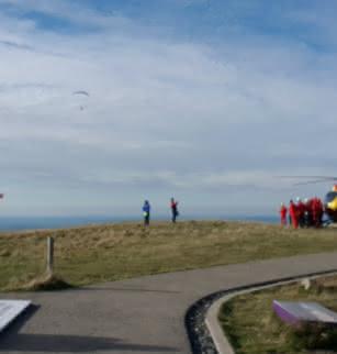 Accueil de l'Armée de l'Air au sommet du puy de Dôme - Journées Européennes du Patrimoine