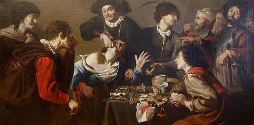 L'arracheur de dents - Rombouts, XVIIe
