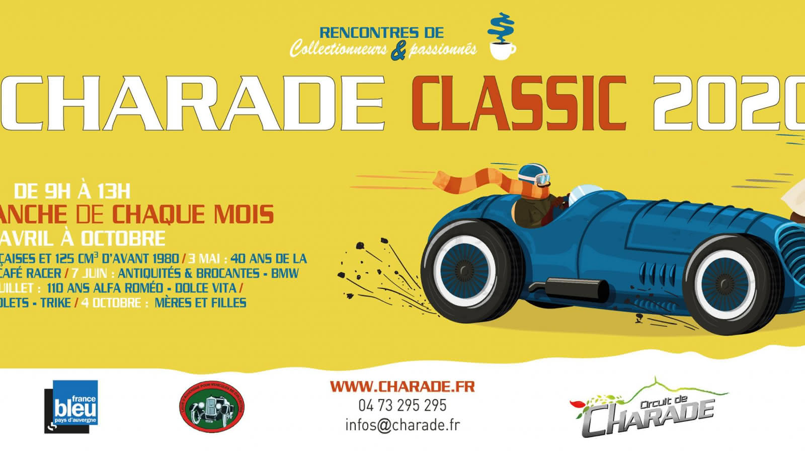 © Charade Classic : Populaires françaises et 125 cm3 d'avant 1980