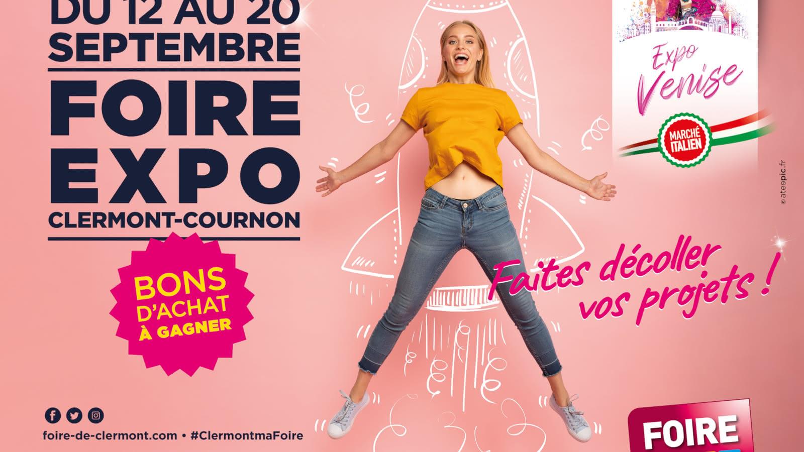 © Foire Expo de Clermont-Cournon