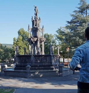 Visite guidée Clermont et ses fontaines