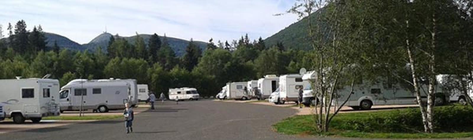 Aire de camping-cars Vulcania