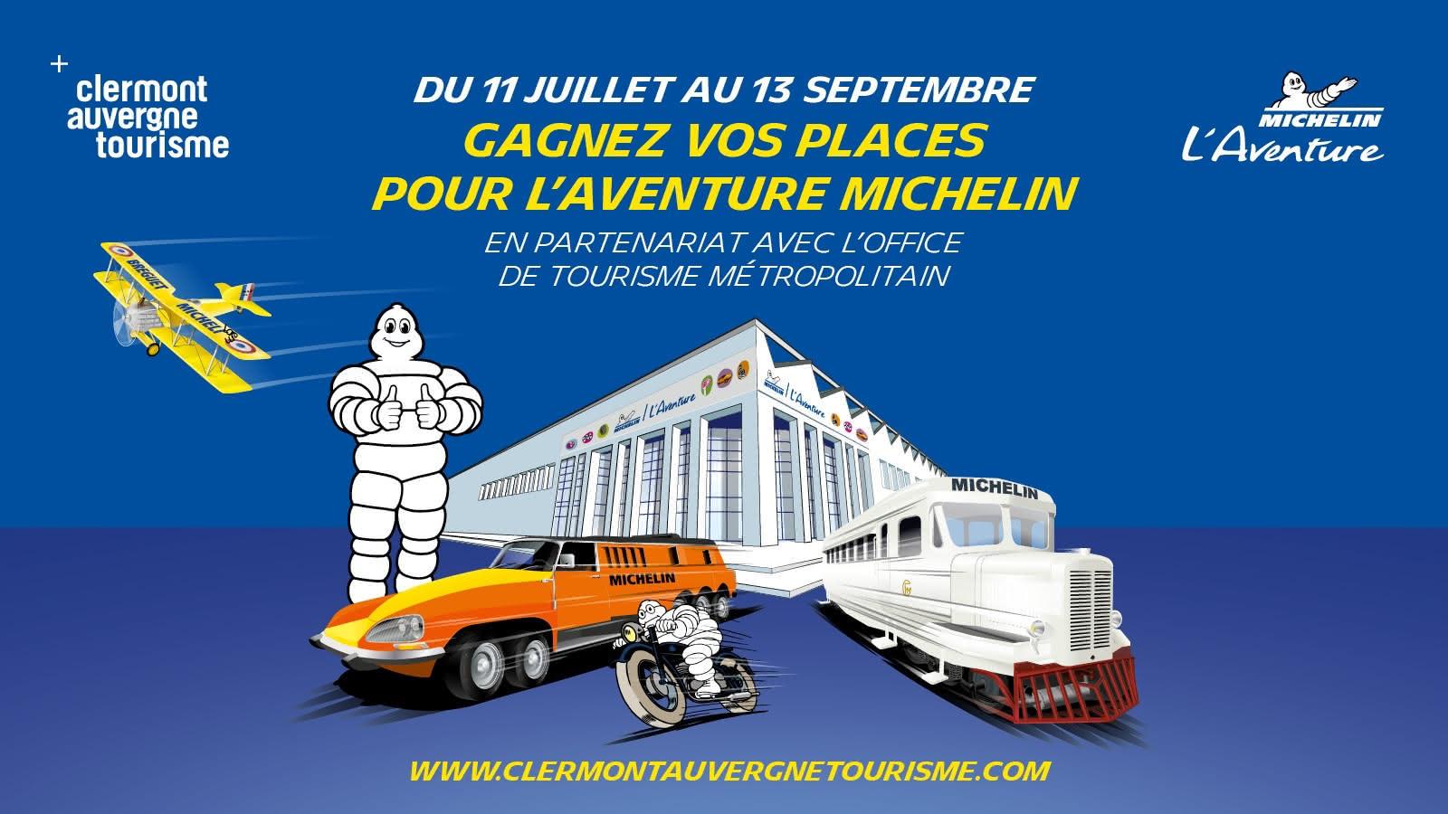 Jeu concours - L'Aventure Michelin