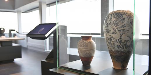Vase du Musée de l'Archéologie de la Bataille de Gergovie