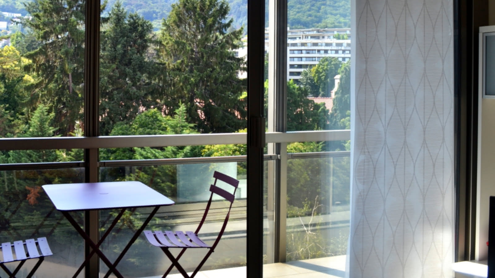 Terrasse - Résidence Les Jardins de l'Europe