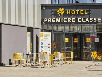 Façade - Hôtel Première classe - Clermont-Fd Centre