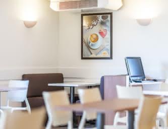 Salle à manger - Ace hôtel - La Pardieu