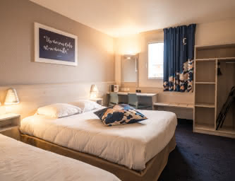 Chambre - Ace hôtel - La Pardieu