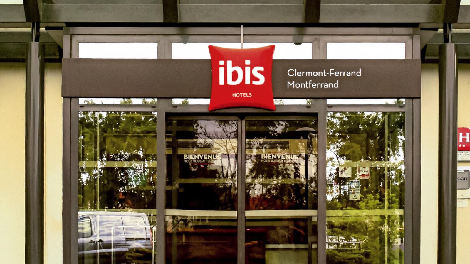 Façade - Hôtel Ibis - Montferrand